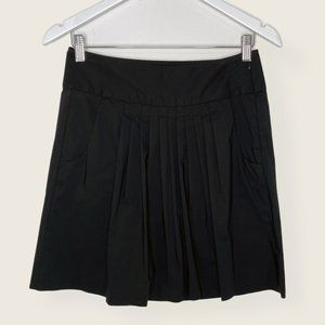 Banana Republic Pleated Front Skirt with Pockets